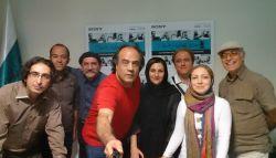 پایان داوری بخش عکس جشنواره فیلم و عکس همراه تهران عکس یادگاری با داوران