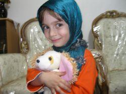 عکس دخترم مهسا که خیلی دوستش دارم.