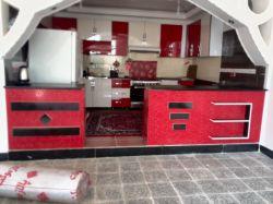 نمای اپن آشپزخانه ...هایگلاس
