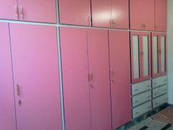 کمد دیواری mdf رنگ ...باربی و سفید
