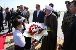 ورود رئیس جمهور به تاجیکستان