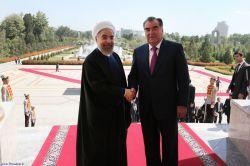 استقبال رسمی رئیس جمهور تاجیکستان