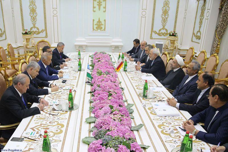 دیدار با رئیس جمهور ازبکستان