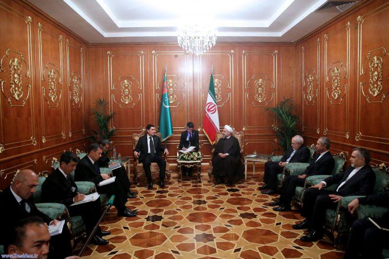 دیدار با رئیس جمهور ترکمنستان