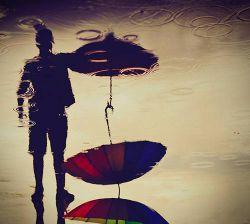 گاهی آنقدر دلم هوایت را میکند … ♡ شک میکنم به اینکه، ♡ این دل مال من است یا تو… . ♡