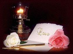 شمع و گل و پروانه .... حکایت و حدیث عاشقی اند .....