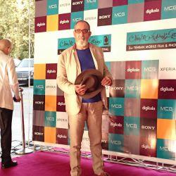 فرهاد آییش در افتتاحیه جشنواره فیلم و عکس همراه تهران 21 شهریور 1393