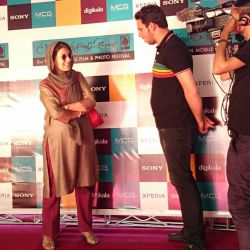 فاطمه معتمدآریا در افتتاحیه جشنواره فیلم و عکس همراه تهران 21 شهریور 1393