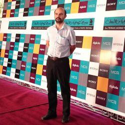 علی مصفا در افتتاحیه جشنواره فیلم و عکس همراه تهران 21 شهریور 1393