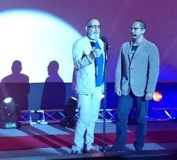 رامبد جوان و فرهاد آییش در افتتاحیه جشنواره فیلم و عکس همراه تهران 21 شهریور 1393