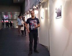 رامبد جوان در گالری عکس های راه یافته به جشنواره فیلم و عکس همراه تهران  پردیس ملت 21 شهریور 1393
