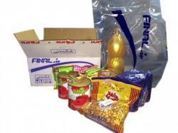 بسته بندی محصولات ارسالی  در فینال رضایت شما را جلب می نماید