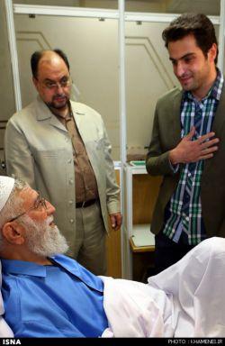 دیدار سید علی ضیا با رهبر