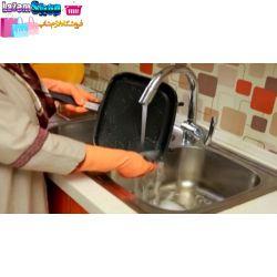 تابه رژیمی ماهیتابه دو طرفه آگرین جهت پختن و سرخ کردن انواع غذاهای سرخ کردنی. در ابتدای پخت, غـذا در بخـار آب خـود پختـه شـده و سپس در روغن خود کاملاً سرخ وآماده خوردن می شود.   http://www.lazemshop.ir/Agrean.html  88921583