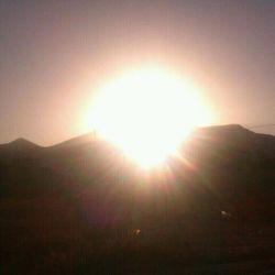 نزدیکه غروب آفتاب . . . (اراک. . .)