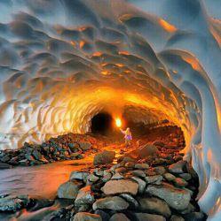 تونل برفی لرستان