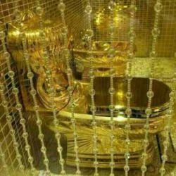 توالت طلای خالص هدیه امیر عربستان به دخترش برای ازدواجش