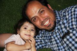 همسرم و بهار خانم دخترم