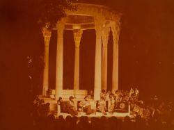 جشن هنر شیراز زنده یاد استاد ناصر فرهنگفر(تنبک)زنده یاد استاد محمدرضا لطفی(تار)استاد محمد رضا شجریان(آواز)