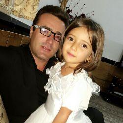 من و دختر گلم