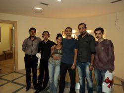 سپتامبر 2011 -  تست سنتر BNT Pro - عکس یادگاری بعد از قبولی در آزمون ها، حمزه، محسن، Mr Fatih، خانمی که یادمون نیست، بابک و عبدالجلیل