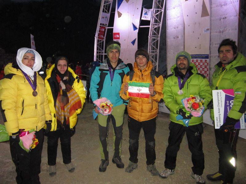 مسابقات قهرمانی یخ نوردی آسیا- کره جنوبی 2014