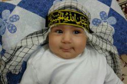 من غم مهر حسین با شیر از مادر گرفتم... اولین محرم مهدیار امسال روضه علی اصغر برایم حال و هوای دیگری داشت