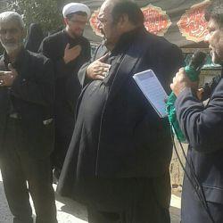 مراسم روز تاسوعا در منزل پدر شهید مفقود الاثر حق پناه