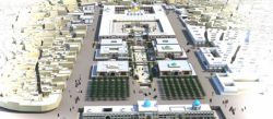 صحن حضرت زهرا (س)  طرح توسعه حرم مطهر حضرت علی (ع)به مساحت 220830متر مربع( در زمینی به طول 400 متر و عرض 150)