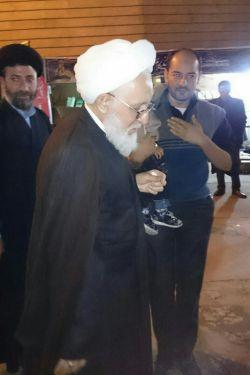 حضرت آیت ا...العظمی ایمانی در کانون رهپویان وصال شیراز