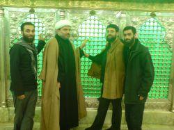 از راست:برادر رضا کوچکی,حاج ابوذر روحی,حاجی ولیپور از قم,حاج طالب روحی