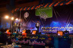 اجرای طنز و تقلیدصدا توسط سیروس حسینی فر در مراسم باشکوه جشن عید غدیر در مرکز تجاری تفریحی شهریار