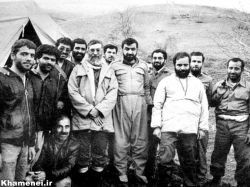 حضور رهبری در جبهه های جنگ