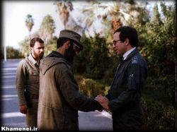 حضور رهبری در جبهه ها