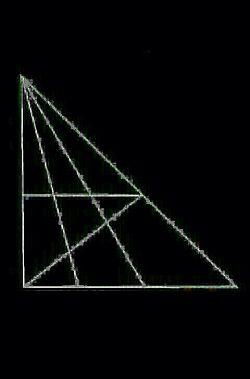 چند عدد مثلث میبینید+ راهنمایی: بالای 15 تاس  ^_^