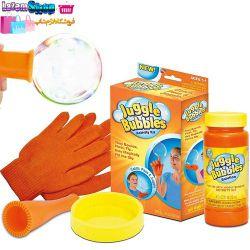 خرید حباب ساز جوگل بابلس اصل juggle Bubbles