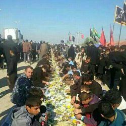 على طریق زوار الإمام الحسین علیه السلام