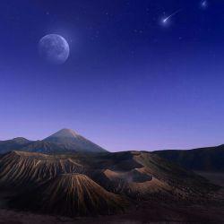 طلوع کن از سرزمین رویاهایم ای ستاره ی شب های تاریکم! آسمان دلم را منتظر مگذار...شبتون بخیر...