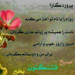 سلام صبحتون بخیر انشاالله روزخوبی داشته باشید...
