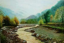 سلام بچه ها یکی دیگه از نقاشیام...شکوه باران امیدوارم خوشتون بیاد......:)