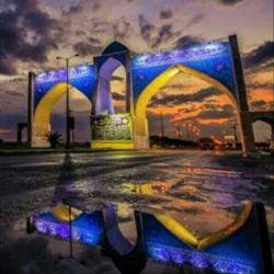 نمایی دیگر از دروازه قرآن بهبهان