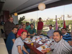 صبحانه رستوران اردک آبی - 1393/05/15 چهارشنبه.  تیم صبا (کلوب - آپارات - میهن بلاگ - لنزور)