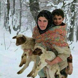 لایک وبزنید به سلامتیه زنان زحمت کش وبزرگ ایرانی