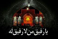 بعد از خدا و قبله سوال درون قبر تنها همین دم است سلامُ علی الحسین
