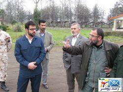 حضور سردار باقرزاده در شهرستان رودسر