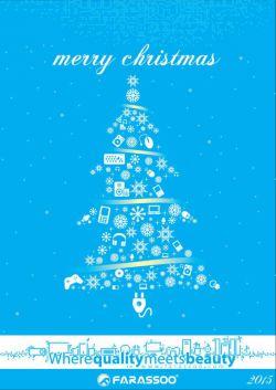 Happy Christmas From Farassoo - كریسمس مبارك از گروه فراسو #كریسمس #Christmas #Santa #Gift #Xmas #Shopping #Love