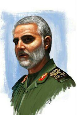 نقاشی عکس سردار...
