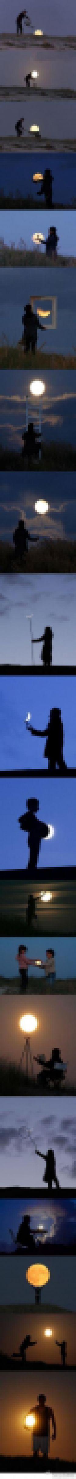 مهتاب و خلاقیت