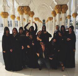 سلی و دوستان در تعطیلات سال نو / دبی
