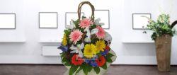 دسته گل جربرا زنبق. ارسال گل به ایران با تحویل درب منزل و قیمت مناسب